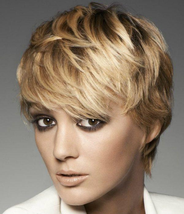 Гаврош на короткому волоссі фото