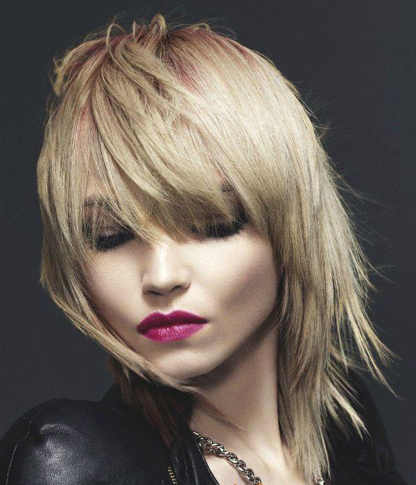 Гаврош на середніх волоссі фото