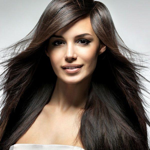 Каскад на середні волосся 3 фото