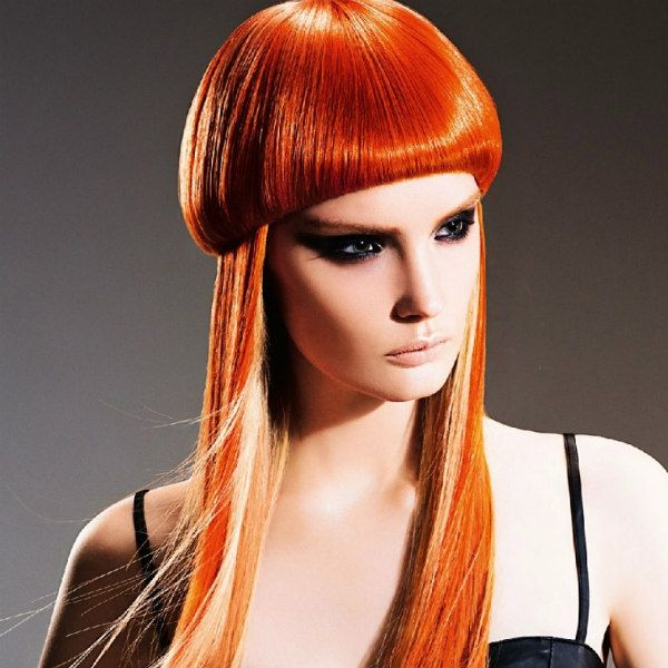Шапочка на довге волосся фото