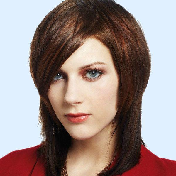 Каре шапочка на середню довжину волосся фото