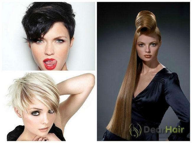 Види і опис зачісок