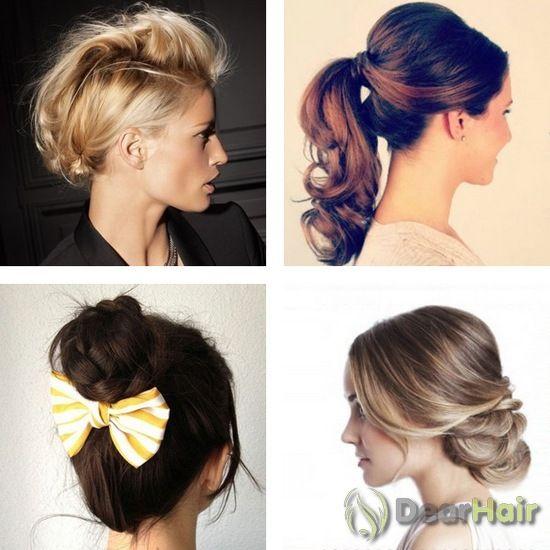 Легкі, прості і красиві зачіски