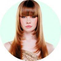 Жіноча стрижка «драбинка» на волоссі будь-якої довжини
